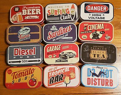 new 1 x 1 oz tobacco tin, various to choose from. listing 2