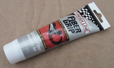Finish Line Fiber Grip Carbon Fiber Assembly Gel-1.75oz.-Carbon Specific Grip