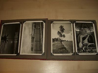 29 Old Black & White Photographs & Postcards of Singapore and Hong Kong in Album