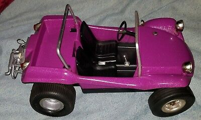 Rare Vintage 1969 Cox Dune Buggy tether car near mint in box ~ Only ran 1 time