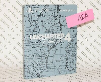 Steelbook case only - Uncharted 4 A Thief's End - Limited - NEW NUEVO NEUF - AEA