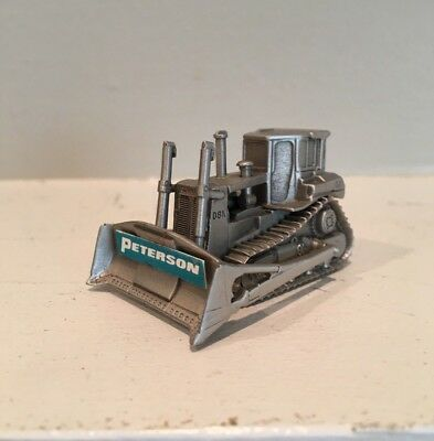 """Caterpillar Cat D8N *promo*  Anheuser Pewter Tractor """"peterson"""" Co. Model Rare!"""