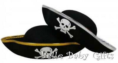 BRAND NEW 10 sets wide brim Pirate Hats and Foam Sword