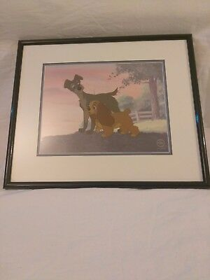 1998 Walt Disney Lady and the Tramp Love on the Horizon Limited Edition of 3000