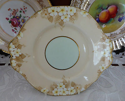 VINTAGE PARAGON MADE IN ENGLAND FINE CHINA CAKE PLATE c1935