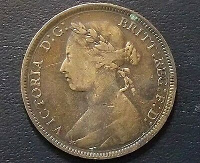 U.k. - Great Britain - 1886 - Half Penny - Victoria - Very Nice