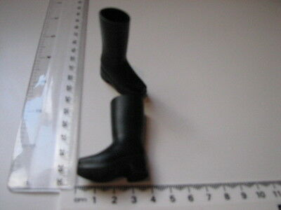 """1/6th scale Black Boots - Ladies  for 12"""" Action Figures."""