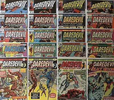 *20* DAREDEVIL Bronze Age Lot FN/VF