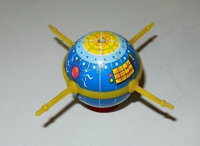 Vintage 1960s Tin Litho Plastic Spacecraft Pencil Sharpener COOL and RARE!