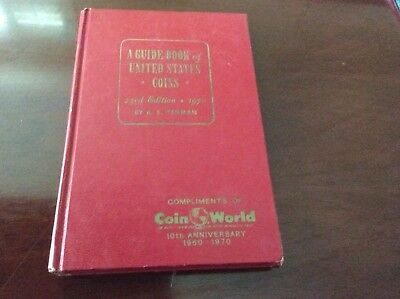 A Guide Book of United States Coins 23rd Edition by R.S. Yeoman Red Book Used