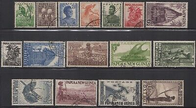 PNG 1952 pictorials set, used