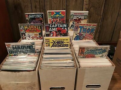 Bronze And Modern age Comic book Lots - $25 BV - Mostly Marvel and DC - X-men
