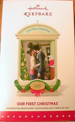 Hallmark 2015 - Our First Christmas - Photo Holder - NEW