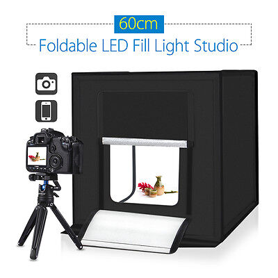 PULUZ 60cm Photography SoftBox Kit Light Tent Studio High Energy High Brightness