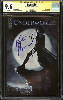 Underworld #1 Photo Cover CGC 9.6 SS Signed Kate Beckinsale Movie Adaptation IDW