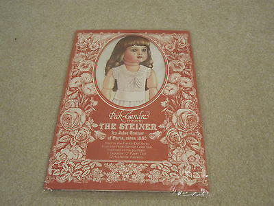 Vintage French paper dolls The steiner Peck Gandre Circa 1880 new in package