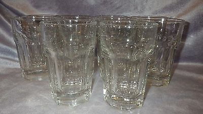 Libbey Rock Sharpe Tumblers Glasses GIBRALTAR CLEAR 10 9oz glasses