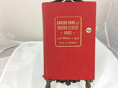 A Guide Book of United States Coins 27th Edition by R.S. Yeoman Red Book Used