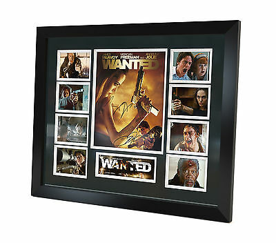 Wanted - Angelina Jolie - James McAvoy - Signed Photo - Movie Memorabilia