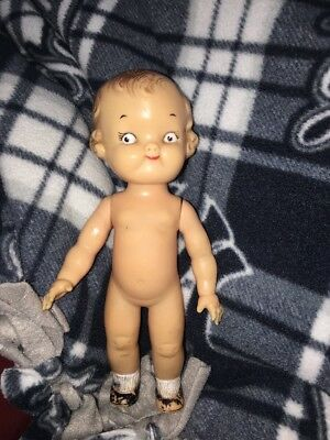 """Vintage 1950's Ideal Campbell's Kid 8"""" Doll"""