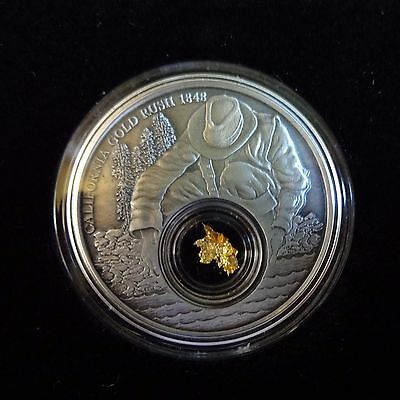 2016 Niue 1 oz Silver California Gold Rush (Antique Finish) - Mintage of 5,000