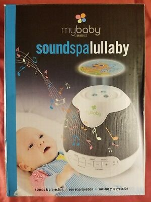 HoMedics MyBaby SoundSpa Lullaby Sounds and Projection - White - Model: MYB-S305