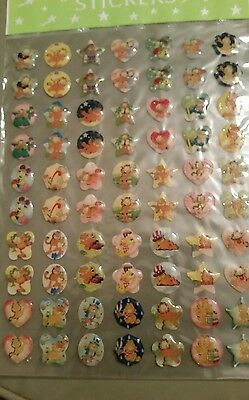 Garfield jelly glitter sticker sheet for craft scrapbook