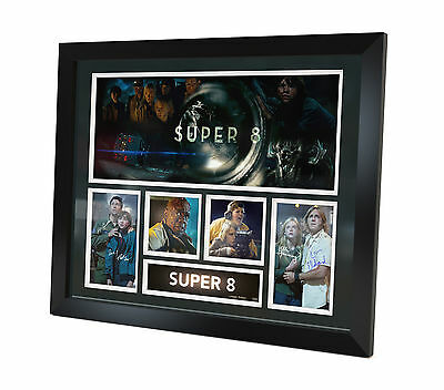 Super 8 Signed Photo Movie Memorabilia Framed Limited Edition Certificate