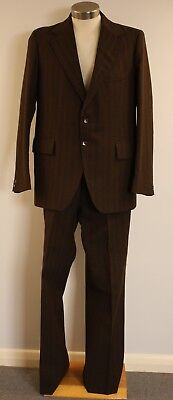 LARGE,ORIGINAL VINTAGE, PETER SHEAER 1970s SUIT.