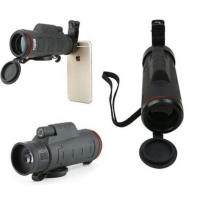 Clip-on 35X50 Optical Telescope Zoom HD Camera Lens For Universal Mobile Phone H
