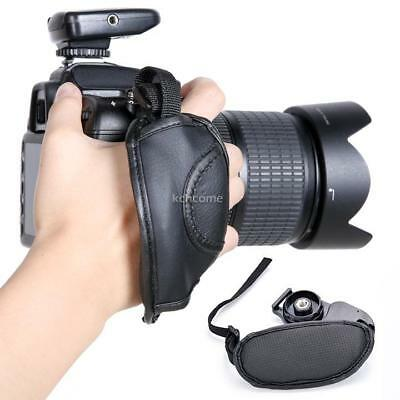 Camera Hand Grip SLR/DSLR Leather Wrist Strap For Canon EOS Nikon Sony Olympus