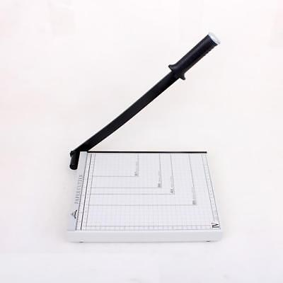 STACK PAPER CUTTER Heavy Duty Table Top Paper Cutting Machine White
