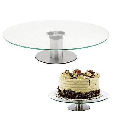 clear cake stand / Turntable