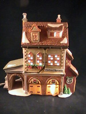 Dept 56 Hather Harness Dickens Village Christmas Porcelain Lighted House