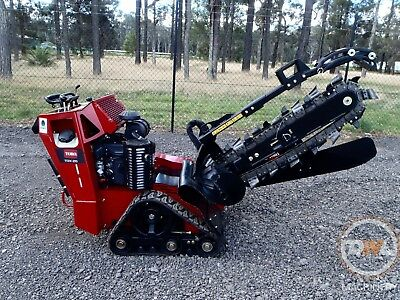 Unused Toro Trx26 Rubber/tracked/trench/digger/trencher/vermeer/ditch Witch