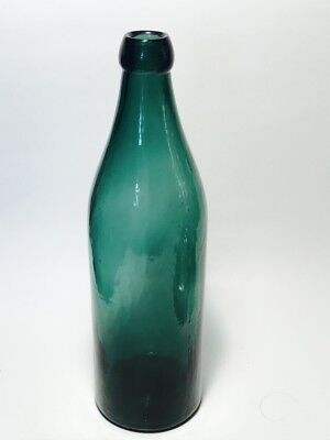 Antique Congress Spring Water Bottle, Saratoga Springs NY Ca 1890s