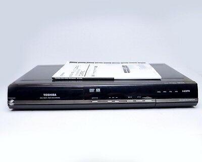 Toshiba D-R7 DVD -RW/R+RW/R Recorder Player HDMI 1080P No Remote w Manual