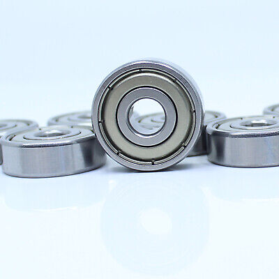 2pc Stainless Steel Miniature Ball Bearing WJB SR4A-ZZ with 2 Metal Shields