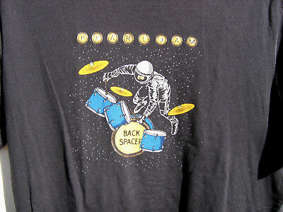 Pearl Jam Backspacer t shirt tee shirt t-shirt size medium Loomstate black