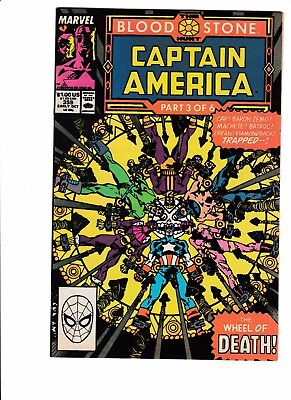 Captain America comic lot, 342-367, 10 comics, 359, movie