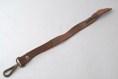 WW2 IJA Vintage Japanese Army Officer's Belt Leather Sword Hanger #a5377