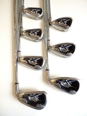 Callaway X-20 Irons (4-P) S300 shafts - Very Good Cond, Free Post # 788