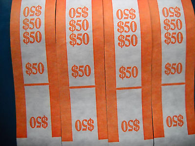 50 USA currency straps bands  $50