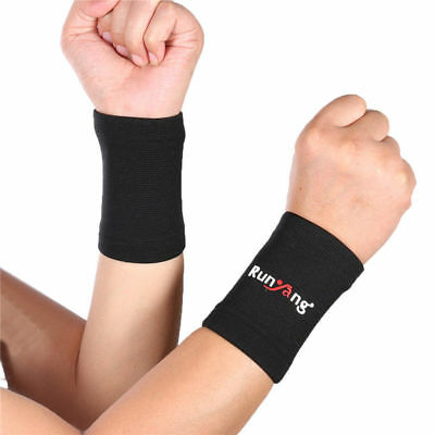 1 Pair Mumian A32 Elastic Sports Wrist Sleeves Compression Sports Brace Support