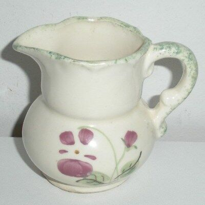 Small Hand Painted Pitcher (Clinchfield Artware,Erwin,Tennessee)