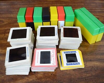 Lot of 125 Vintage 35mm Photo Slides 1950s 1960s People Family Shots