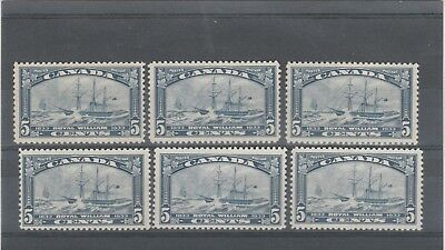 Canada 1933 Kgv 6 X Sg331 Lovely Ss Royal William Mint No Hinged Stamps