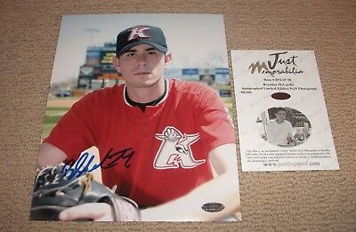 Brandon Mccarthy - Signed Autographed 8X10 Photo W/just Minors Coa 90/100