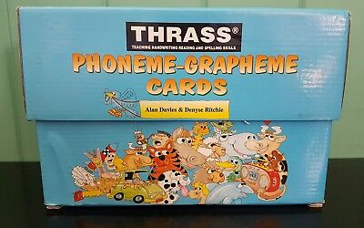 Thrass Phoneme-grapheme children's Learning cards Teaching Aid - Picture / Words