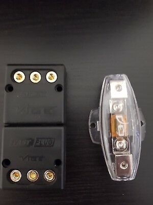 Vibe Fast Plug and fuse - easy removal of sub/amp